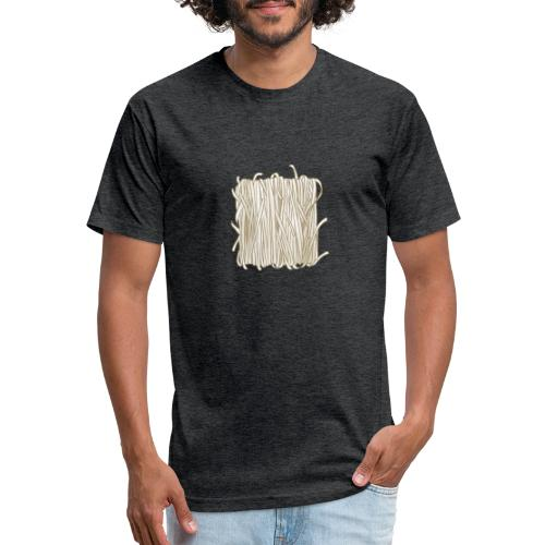 Rice Noodles - Fitted Cotton/Poly T-Shirt by Next Level