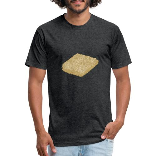 Two Minute Noodles - Fitted Cotton/Poly T-Shirt by Next Level