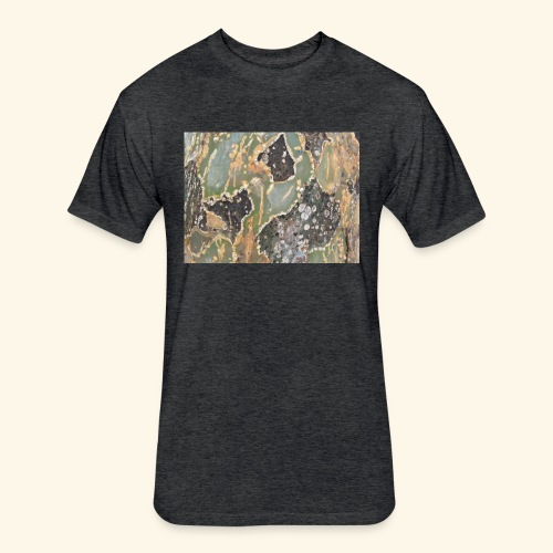 Nature Series NCArt - Terra Trees - Fitted Cotton/Poly T-Shirt by Next Level