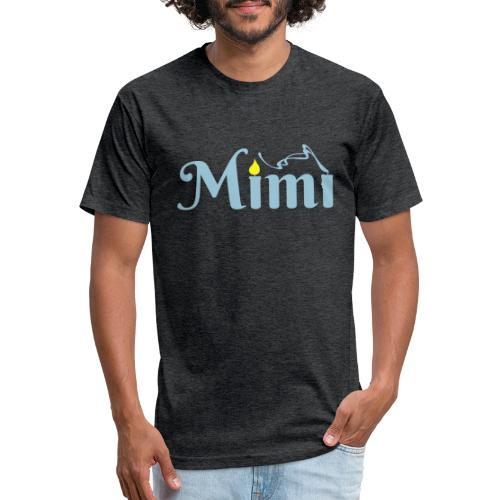 La bohème: Mimì candles - Fitted Cotton/Poly T-Shirt by Next Level