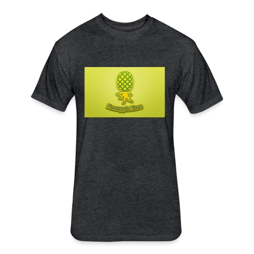 Swingers - Pineapple Time - Fitted Cotton/Poly T-Shirt by Next Level
