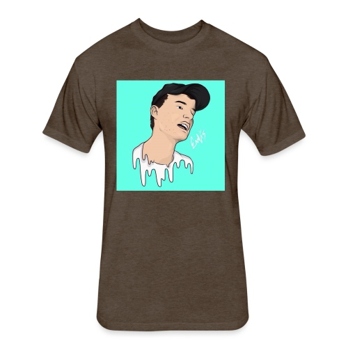 ElixDrawz Design - Fitted Cotton/Poly T-Shirt by Next Level