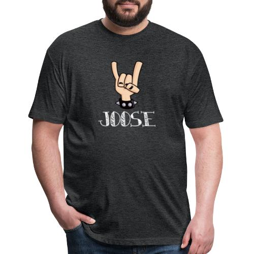 JOOSE HORNS - Fitted Cotton/Poly T-Shirt by Next Level