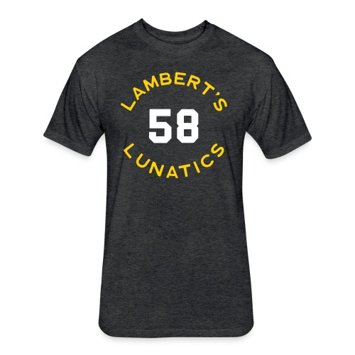 Lunatics - Fitted Cotton/Poly T-Shirt by Next Level