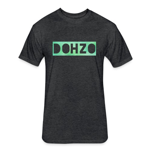 DOHZO - Fitted Cotton/Poly T-Shirt by Next Level