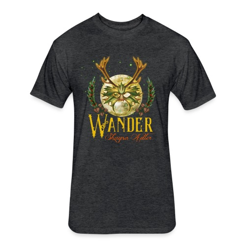 Wander Album - Fitted Cotton/Poly T-Shirt by Next Level