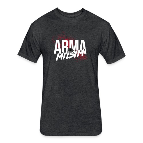 arma milsim2 - Fitted Cotton/Poly T-Shirt by Next Level