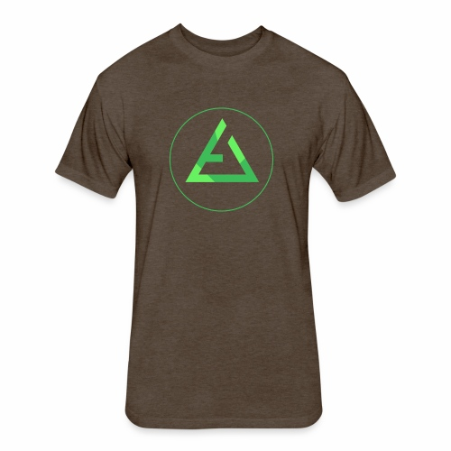 crypto logo branding - Fitted Cotton/Poly T-Shirt by Next Level