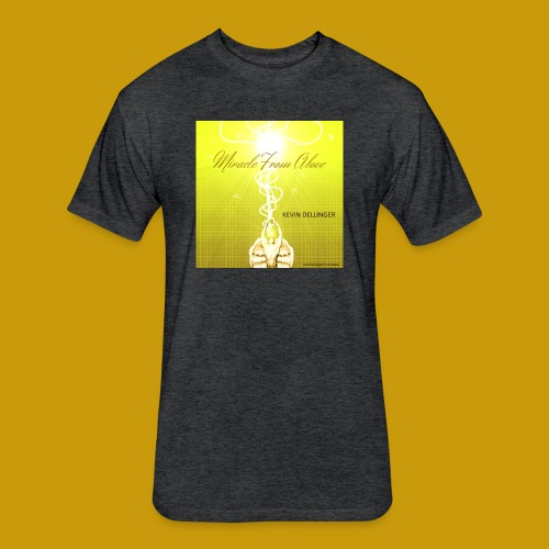 Miracle From Above - Fitted Cotton/Poly T-Shirt by Next Level