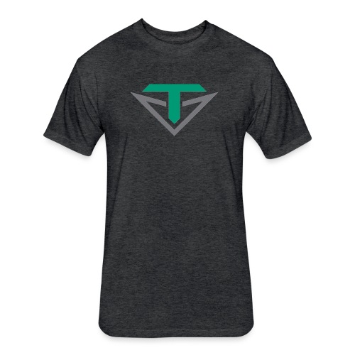 Toulon Golf Logo Shirt - Fitted Cotton/Poly T-Shirt by Next Level