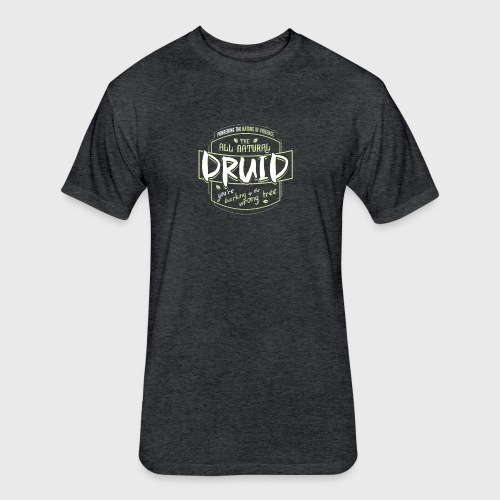 Druid Class Fantasy RPG Gaming - Fitted Cotton/Poly T-Shirt by Next Level
