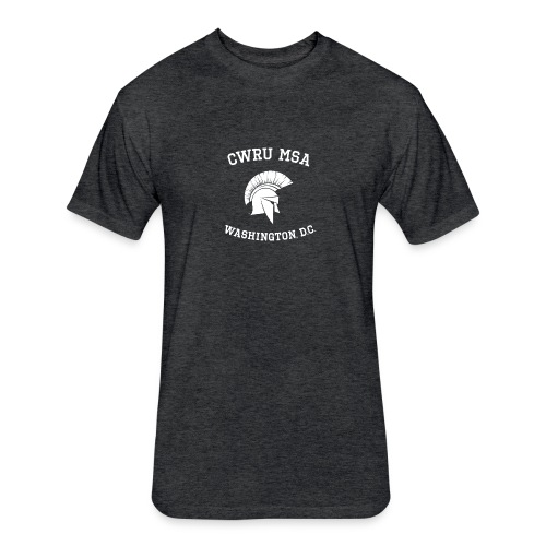 CWRU MSA Program Washington, D.C - Fitted Cotton/Poly T-Shirt by Next Level