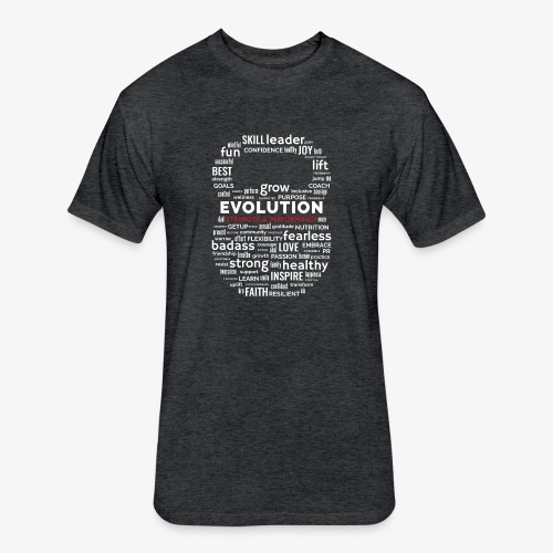 All the Strengths You Cannot See - Fitted Cotton/Poly T-Shirt by Next Level