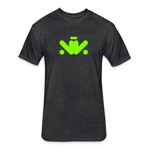 NK Green - Fitted Cotton/Poly T-Shirt by Next Level