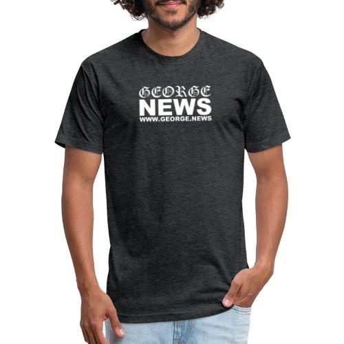 GEORGE NEWS V2 - Fitted Cotton/Poly T-Shirt by Next Level