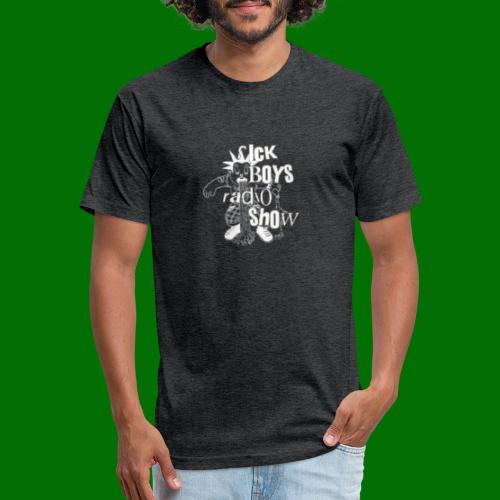Sick Boys Puke Punk - Fitted Cotton/Poly T-Shirt by Next Level