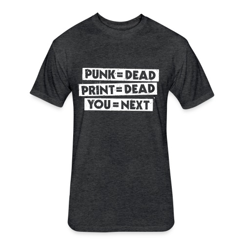 You = Next - Fitted Cotton/Poly T-Shirt by Next Level