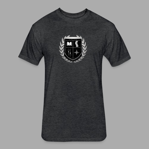 Lyceum Institute Seal - Inverted - Fitted Cotton/Poly T-Shirt by Next Level
