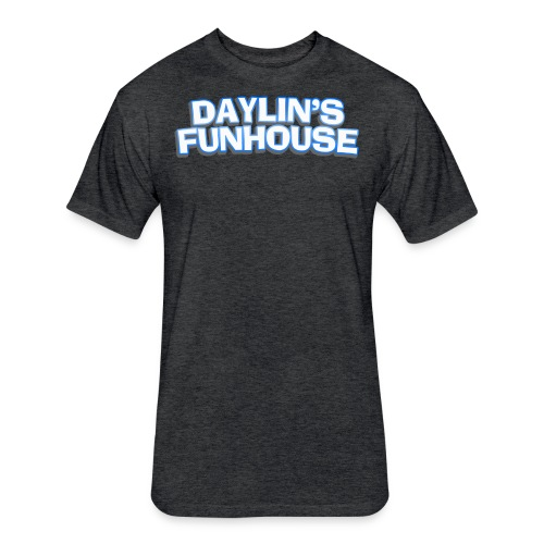 Daylins Funhouse plain logo - Fitted Cotton/Poly T-Shirt by Next Level