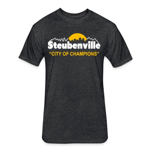 Steubenville - City of Champions - Fitted Cotton/Poly T-Shirt by Next Level