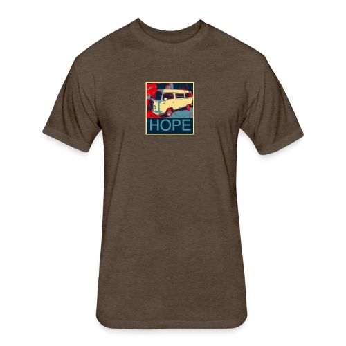 CLASSIC van SURF BUS TSHIRT HATS HOODIES - Fitted Cotton/Poly T-Shirt by Next Level