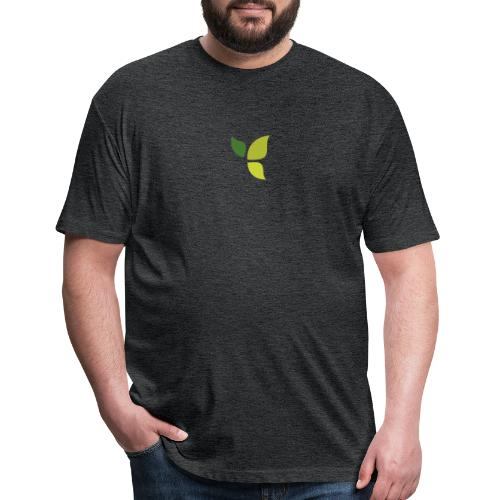 Dom Gooden Leaf Logo - Fitted Cotton/Poly T-Shirt by Next Level
