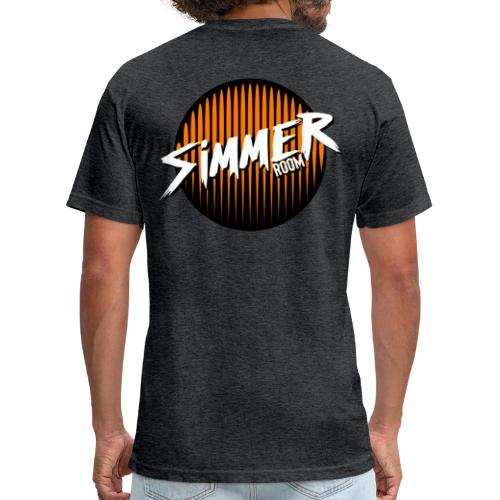 Simmer Halloween is Dead special edition - Fitted Cotton/Poly T-Shirt by Next Level