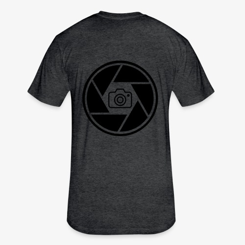 Camera in Aperture - Fitted Cotton/Poly T-Shirt by Next Level