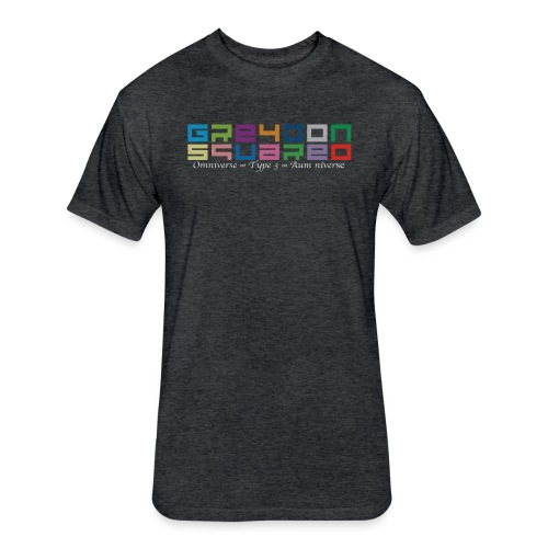 Greydon Square Colorful Tshirt Type 3 - Fitted Cotton/Poly T-Shirt by Next Level