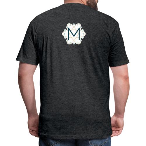 Macca's Tech Logo - Fitted Cotton/Poly T-Shirt by Next Level