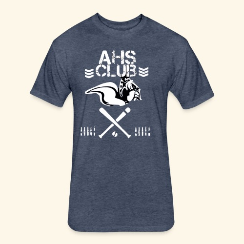 AHS CLUB T shirt - Fitted Cotton/Poly T-Shirt by Next Level