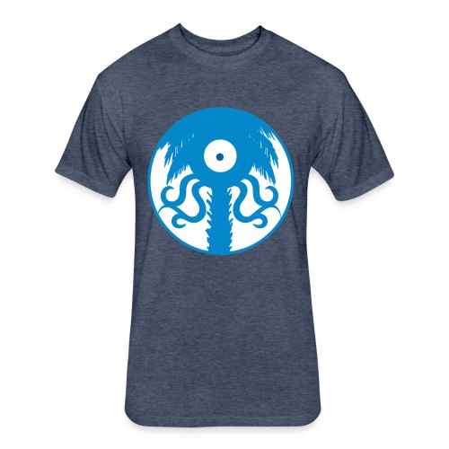 Octo-Tree - Fitted Cotton/Poly T-Shirt by Next Level