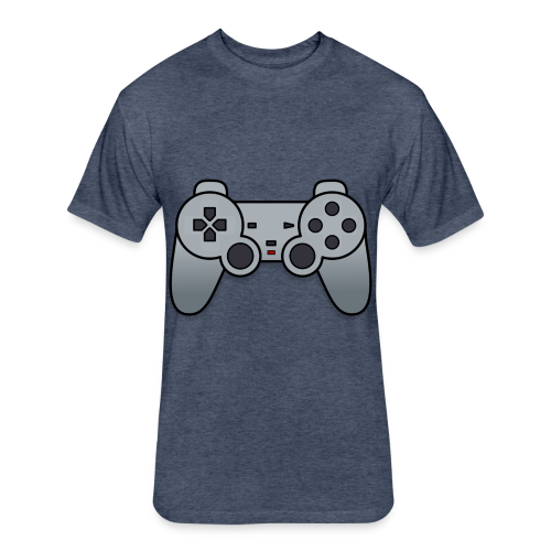 Game Controller - Fitted Cotton/Poly T-Shirt by Next Level