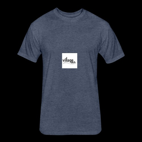 vt - Fitted Cotton/Poly T-Shirt by Next Level