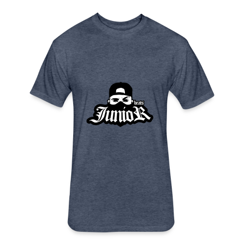 JunioR - Fitted Cotton/Poly T-Shirt by Next Level