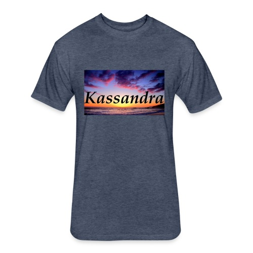 kassandra - Fitted Cotton/Poly T-Shirt by Next Level