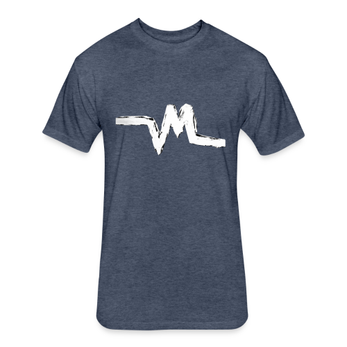 Original Vertical Minds Logo - Fitted Cotton/Poly T-Shirt by Next Level