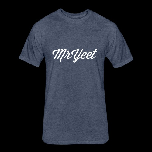 MrYeet - Fitted Cotton/Poly T-Shirt by Next Level