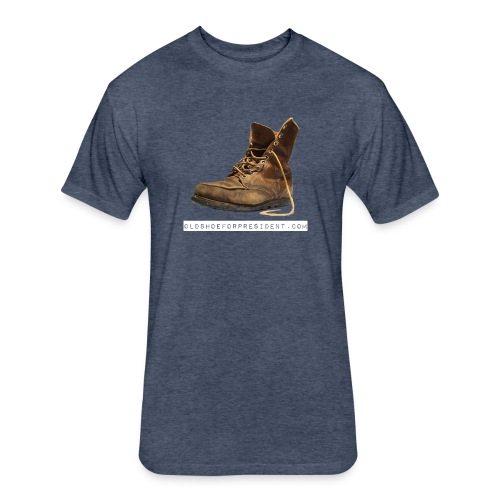 Old Shoe for President T-Shirt - Fitted Cotton/Poly T-Shirt by Next Level