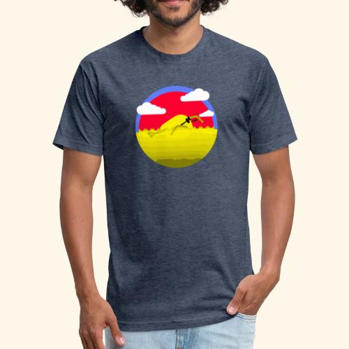 mango sweeming - Fitted Cotton/Poly T-Shirt by Next Level