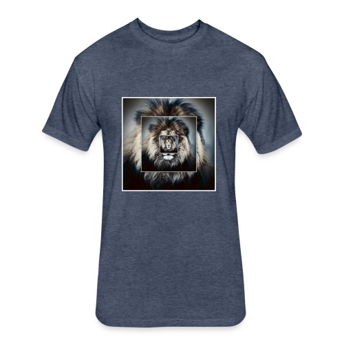The king is the best - Fitted Cotton/Poly T-Shirt by Next Level