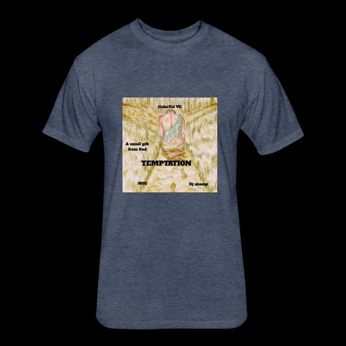 Temptation Merch - Fitted Cotton/Poly T-Shirt by Next Level