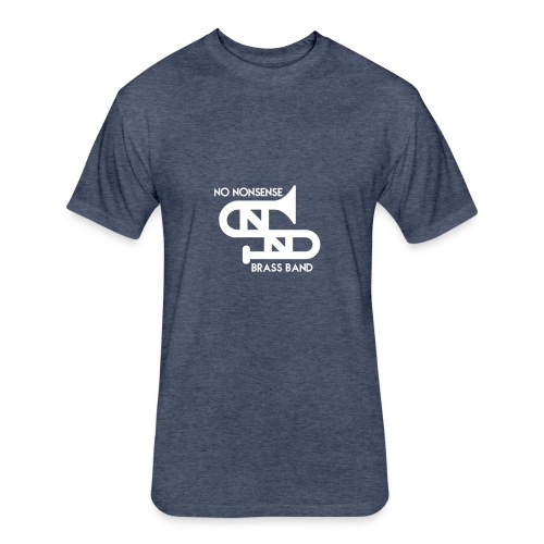 No Nonsense2W - Fitted Cotton/Poly T-Shirt by Next Level