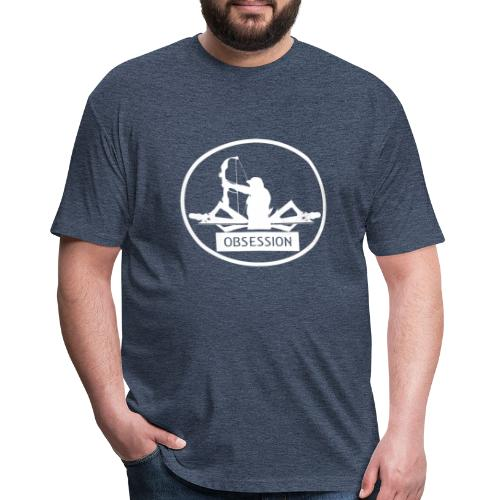 Reel Hunt Bow Hunting T Shirt - Fitted Cotton/Poly T-Shirt by Next Level