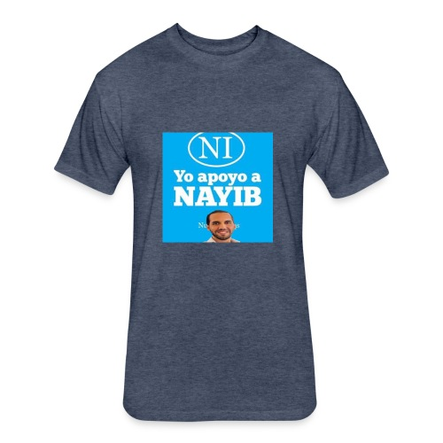 NAYIB - Fitted Cotton/Poly T-Shirt by Next Level