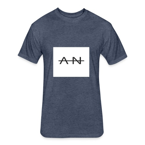 AN - Fitted Cotton/Poly T-Shirt by Next Level