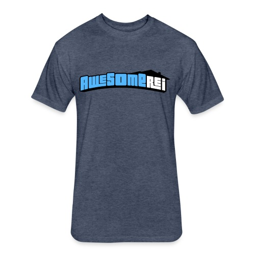 Awesome REI T-Shirt - Fitted Cotton/Poly T-Shirt by Next Level