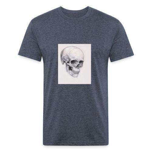 82f395bb139ec1b9456700d452d83b9c - Fitted Cotton/Poly T-Shirt by Next Level