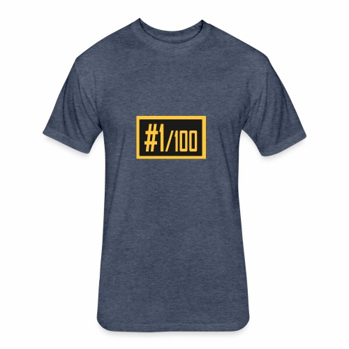 yellow 530x 2x - Fitted Cotton/Poly T-Shirt by Next Level
