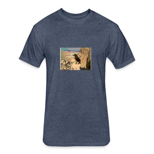 BIRDS OF MASADA - Fitted Cotton/Poly T-Shirt by Next Level